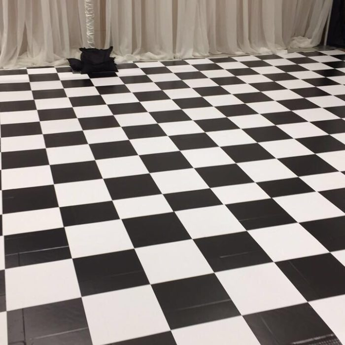 black and white, floor vinyl, printing, large format, wrap, graphics, event graphics