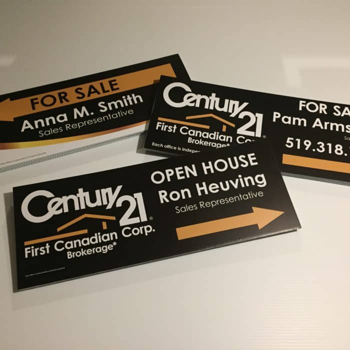 Signage, Printing, Real Estate, Signs, Large Format Printing, Riders,Directional Signage